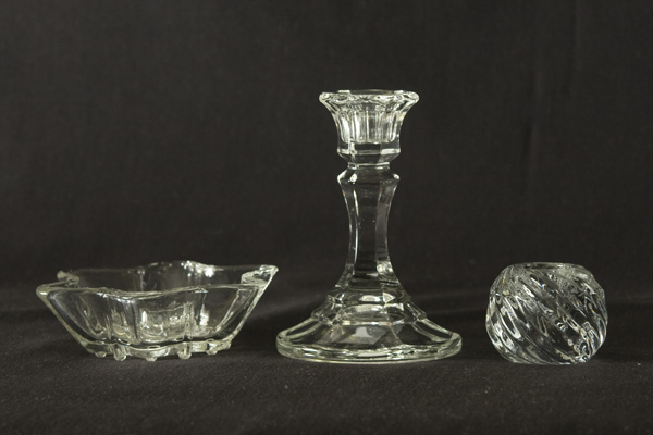 Glass star single candle holder united rent all omaha