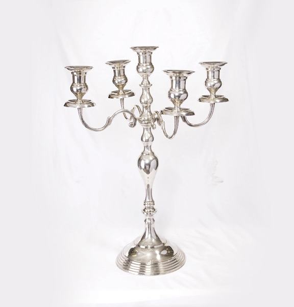 Candelabra branch silver united rent all omaha