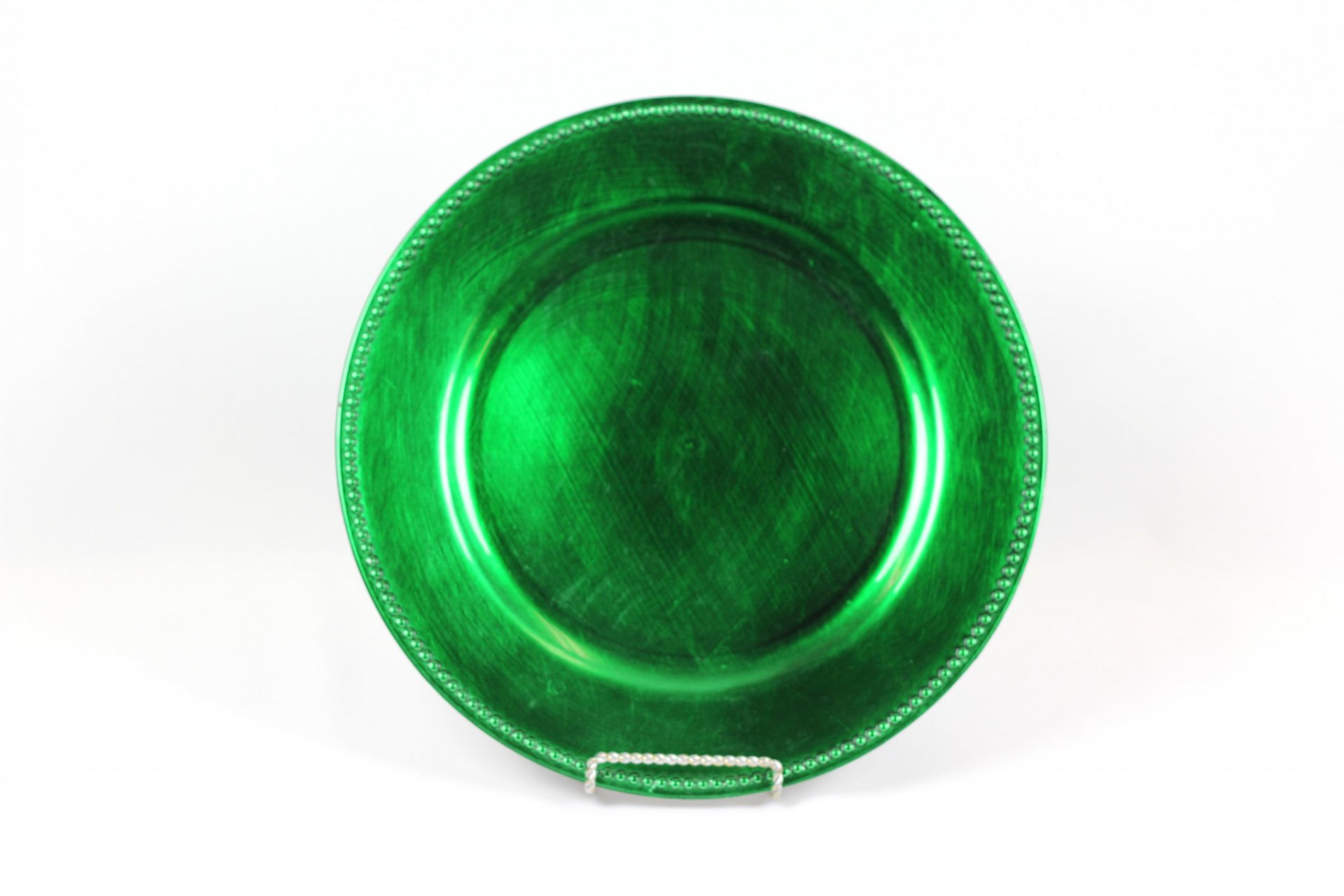 Charger Plate Hunter Green Acrylic United Rent All Omaha