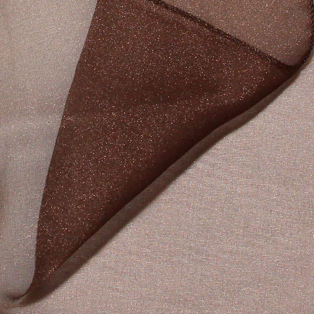Brown Organza United Rent All Omaha