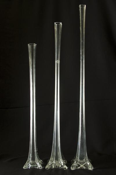 Glass Vase Eiffel United Rent All Omaha