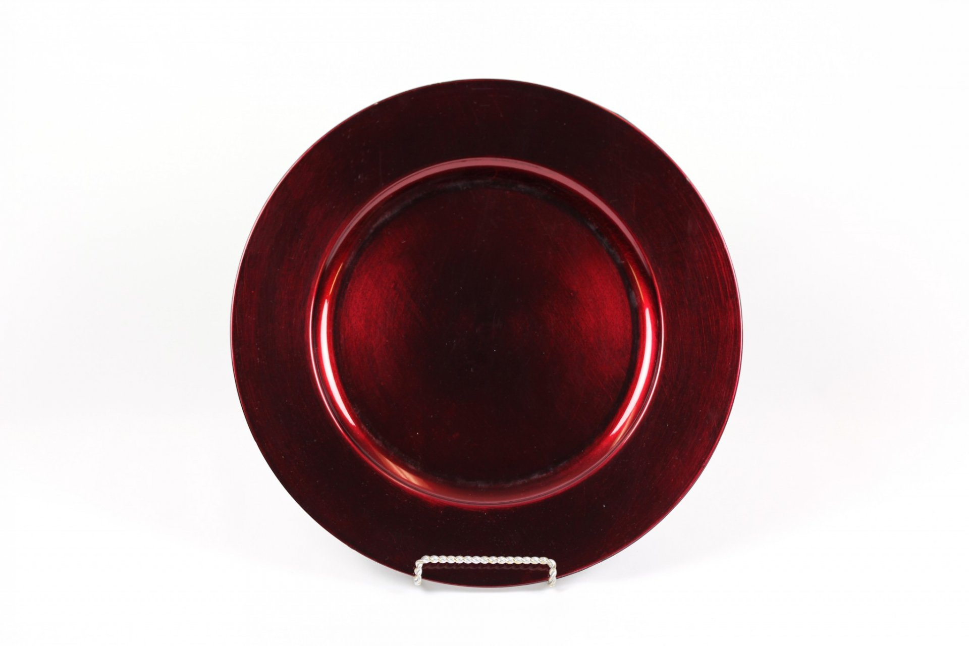 Charger Plate Burgundy Acrylic United Rent All Omaha
