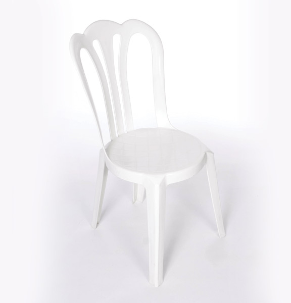 White Resin Bistro Chairs & White Resin Bistro Chairs | United Rent All - Omaha