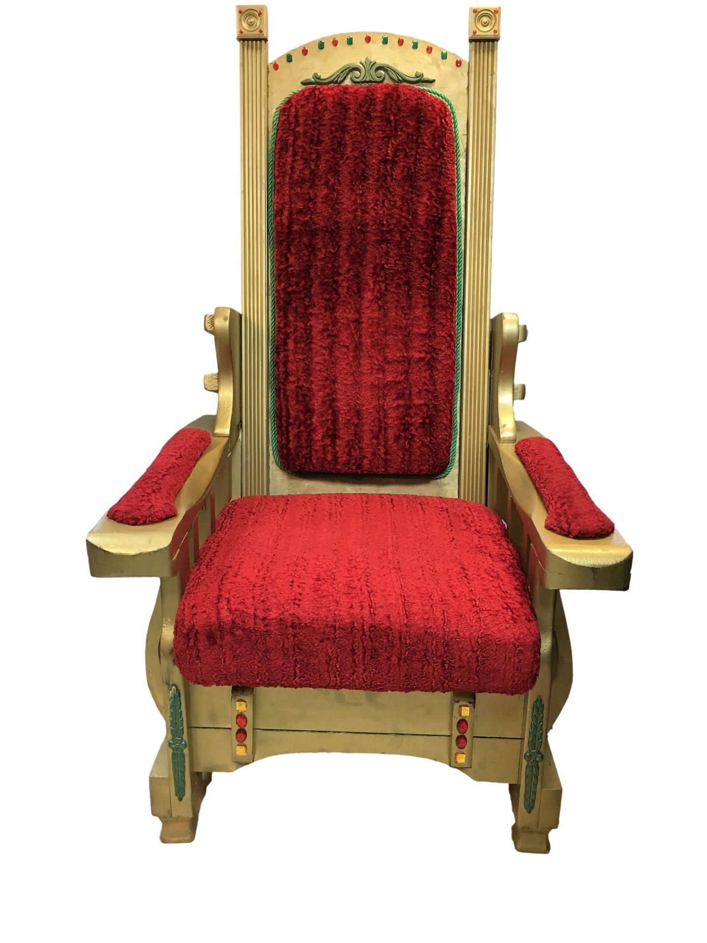 Santa Chair United Rent All Omaha
